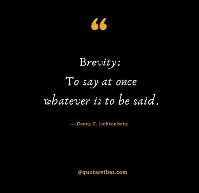 Brevity Of Life Quotes