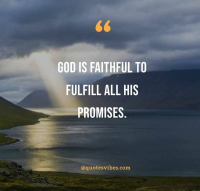 God Is Faithful Quotes Images