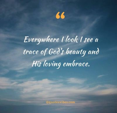 Gods Beauty In Nature Quotes