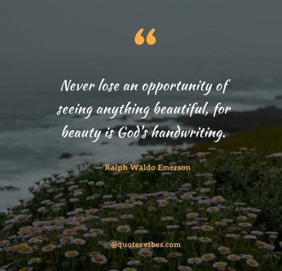God's Beauty Quotes Images