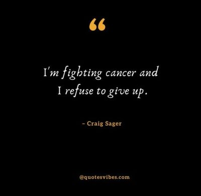 Inspirational Craig Sager Quotes On Cancer