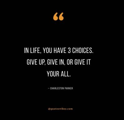 Give It Your All Quotes And Sayings
