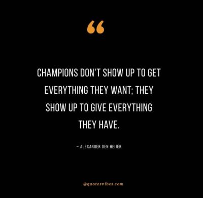 Give It Your All Sports Quotes