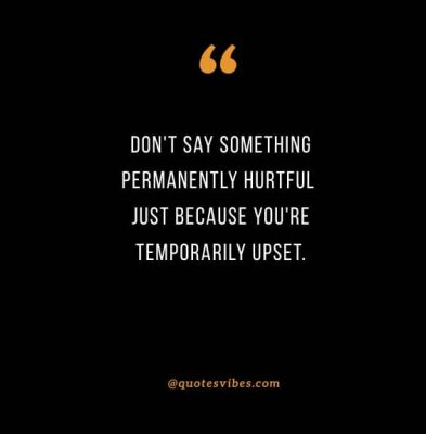 Hurtful Words Quotes Images