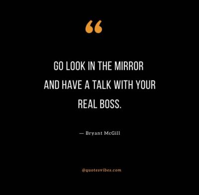 Look In The Mirror Quotes And Caption