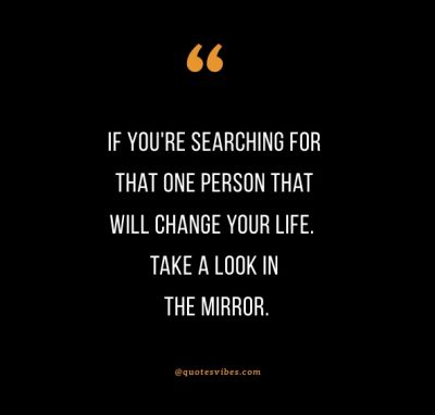 Look In The Mirror That's Your Competition Quote
