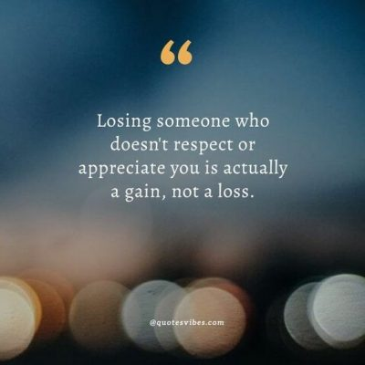 Losing Respect Quotes