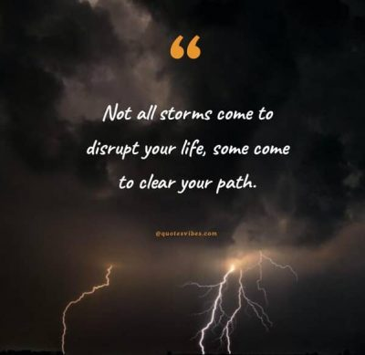 Motivational Thunderstorm Quotes