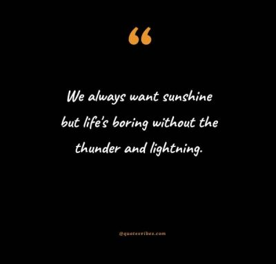 Thunderstorm Quotes Images