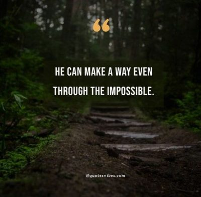 God Will Make A Way Quotes Images