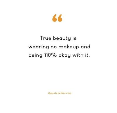 No Makeup Quotes For Girls